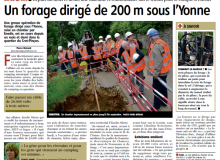 forage dirigé AT30 presse