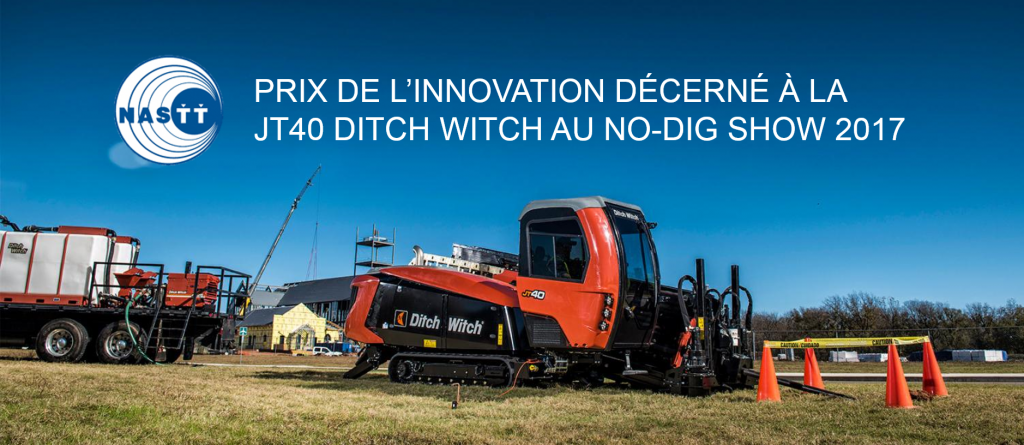 prix foreuse JT40 Ditch Witch