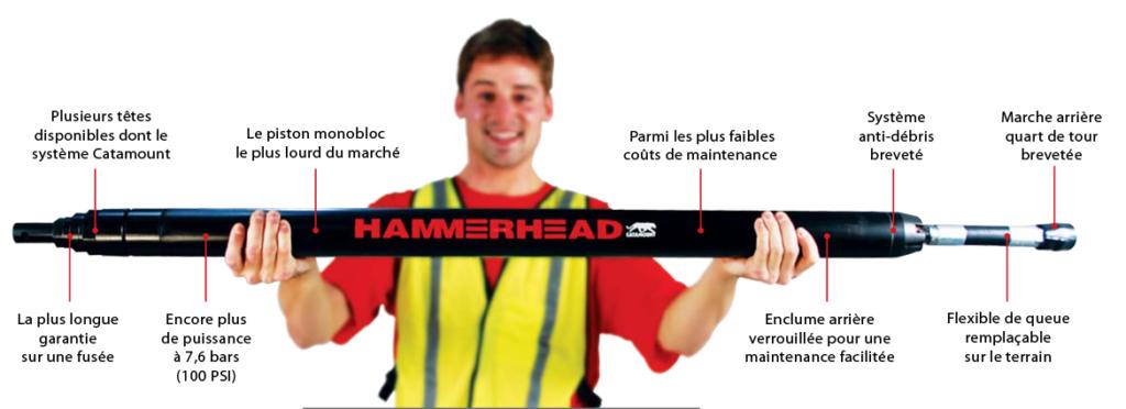 Hammerhead-conception